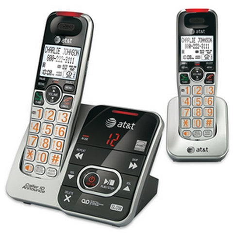 2-Handset Answering System with Caller I