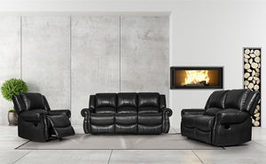 Greatime S2802 Recliner Sofa Set