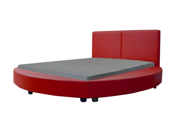 Greatime B1159 Modern Round Shape Platform Bed (More Colors Available)