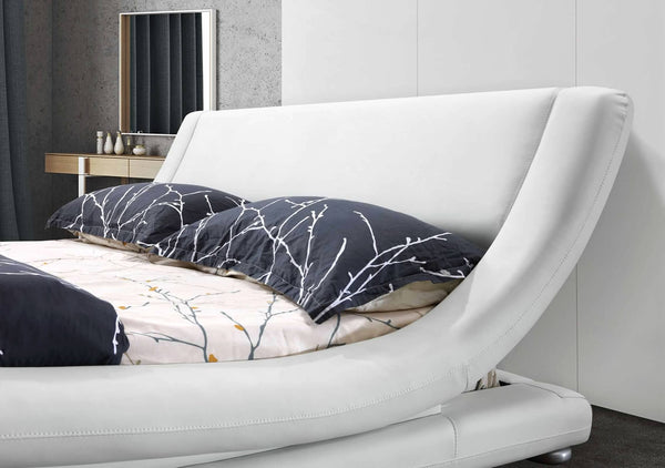 Greatime B1070 Contemporary Upholstered Platform Bed (More Colors Available)