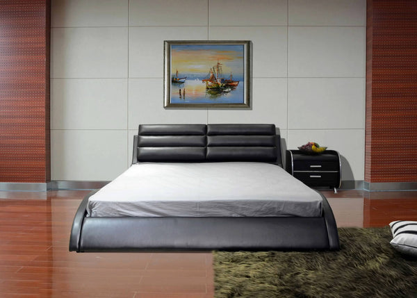 Greatime B1210 Modern Upholstered Platform Bed