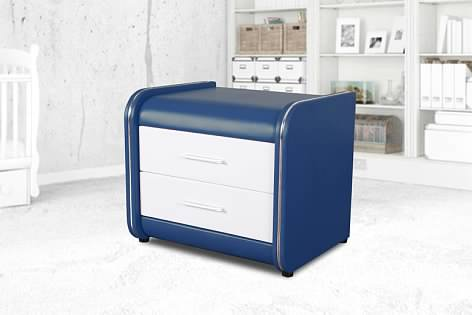 Greatime NL1002 Modern Vinyl Nightstand (More Colors Available)