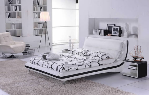 Greatime B2006 Modern Platform Bed