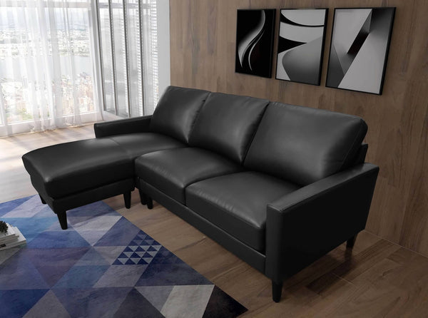 Greatime S2803  PU Convertible section Sofa (More Colors Available)