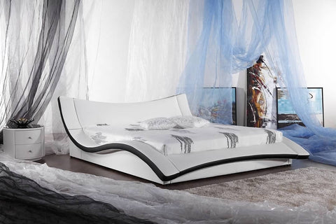 Greatime B2007 Modern Platform Bed