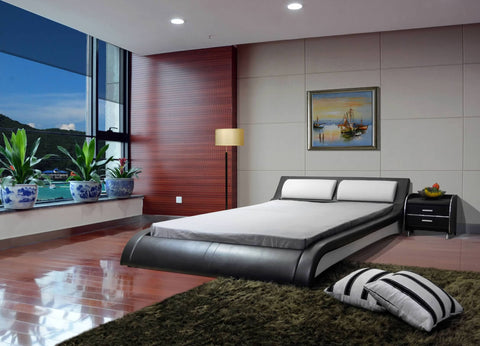 Greatime B1211 Modern Platform Bed