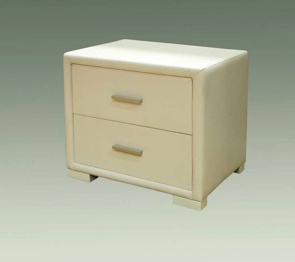 Greatime NL001 Leatherrette Nightstand (More Colors Available)