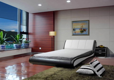 Greatime B1209 Modern Platform Bed