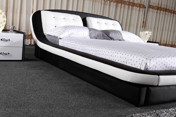 Greatime B2002 Modern Platform Bed