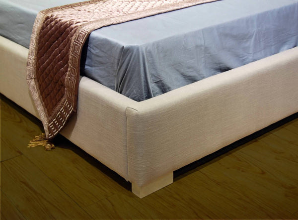Greatime B1113 Fabric Platform Bed (More Colors Available)