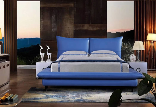 Greatime B2403 Queen Size Modern Platform Bed (More Colors Available)