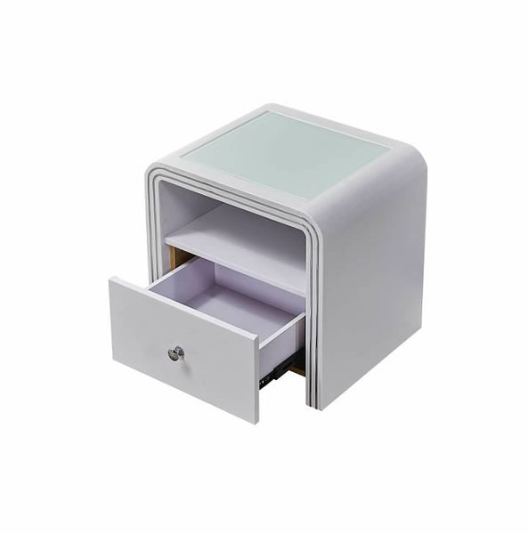 Greatime NL2403 Modern One Drawer Nighstand (More Colors Available)
