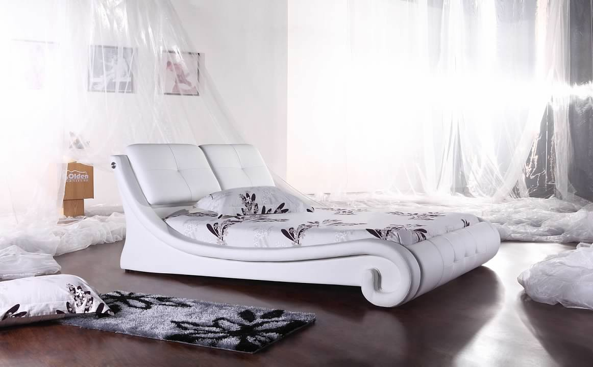 Greatime B2004 Modern Platform Bed (More Colors Available)