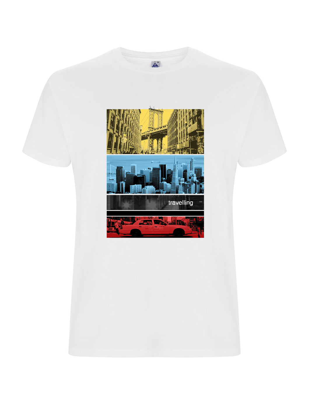 t-shirt CITY / COLOR - linea travelling