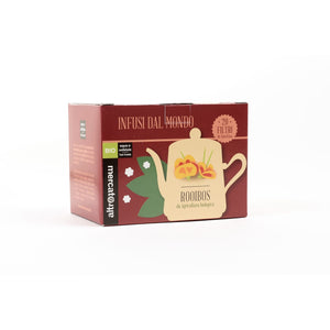 INFUSO ROOIBOS IN BUSTINE SUD AFRICA - BIO | COD. 00001054 | 20 filtri 30 g
