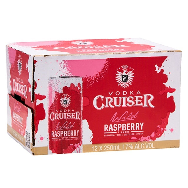 CRUISER 7% RASPBERRY 12PK CANS