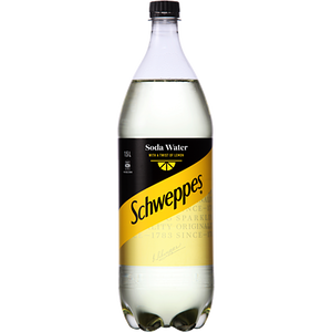 SCHWEPPES SODA WITH A TWIST 1.5L
