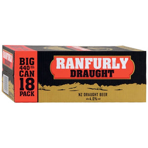 RANFURLY DRAUGHT 440ML 18PK Cans