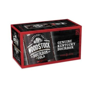 WOODSTOCK 5% 330ML Bottles 18PK