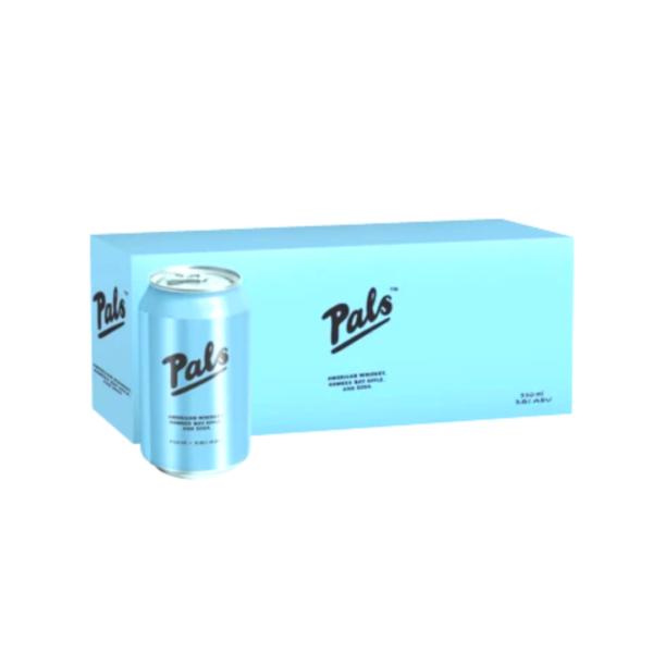 PALS WHISKY APPLE & SODA 10 PK Cans
