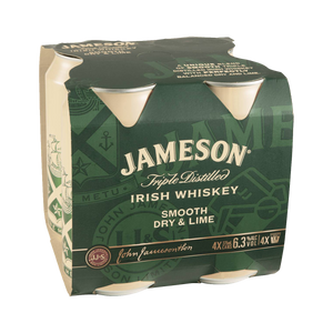 Jameson Dry and Lime 4PK Cans