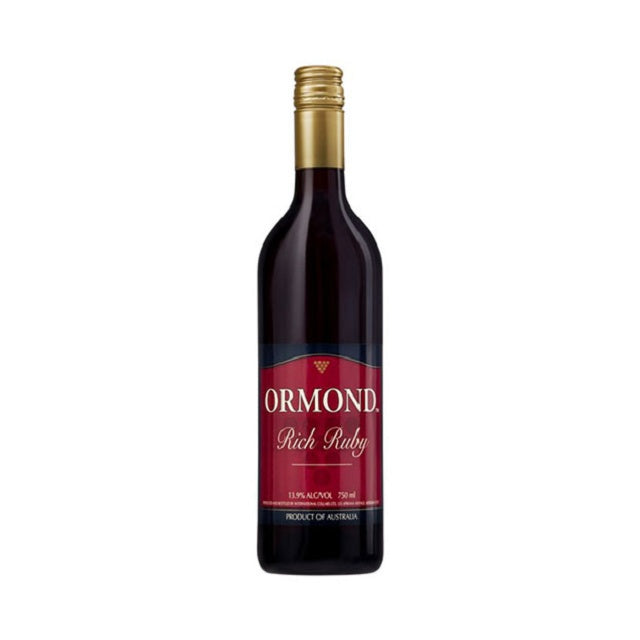 ORMOND RICH RUBY 750ML
