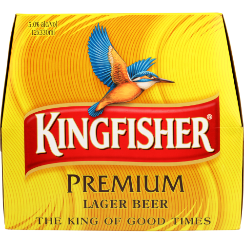 KINGFISHER 12PK Bottles