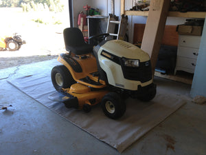 ATV & Riding Lawnmower Mat
