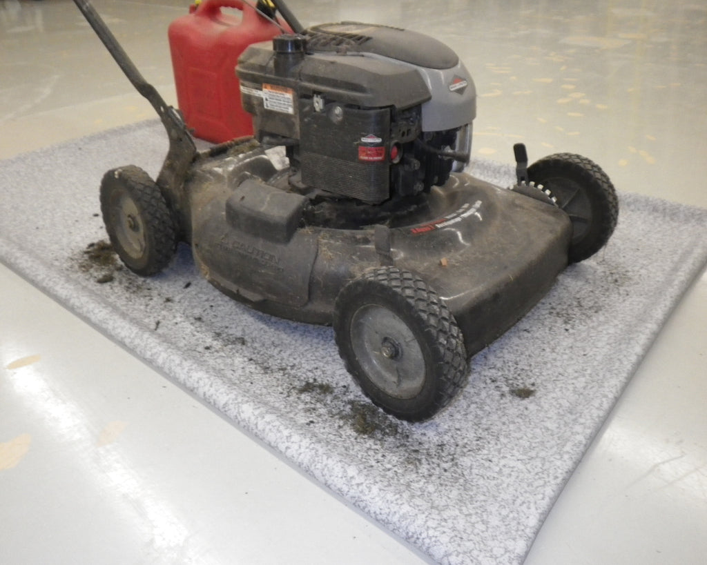Snowblower Mat and Lawnmower Mat