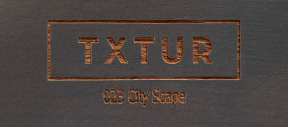 City Scape Wood Finish Sample