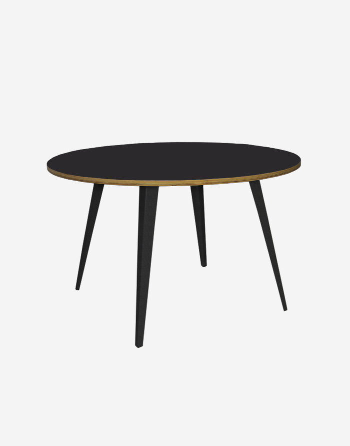 Lean Round Dining Table