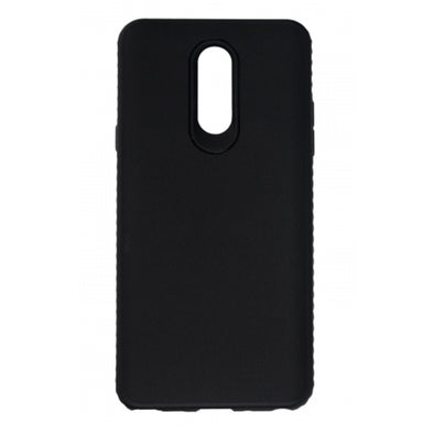 BASIC LG STYLO 4 TPU GRIP COVER BLACK