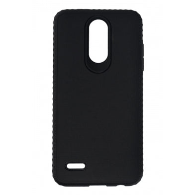 BASIC LG FORTUNE 2 TPU GRIP COVER BLACK