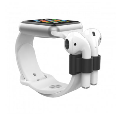 APPLE WATCH + AIRPODS HOLDER BLACK