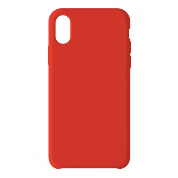 PREMIUM APPLE IPHONE X/XS LIQUID CASE RED