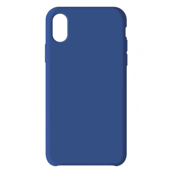 PREMIUM APPLE IPHONE X/XS LIQUID CASE DEEP BLUE