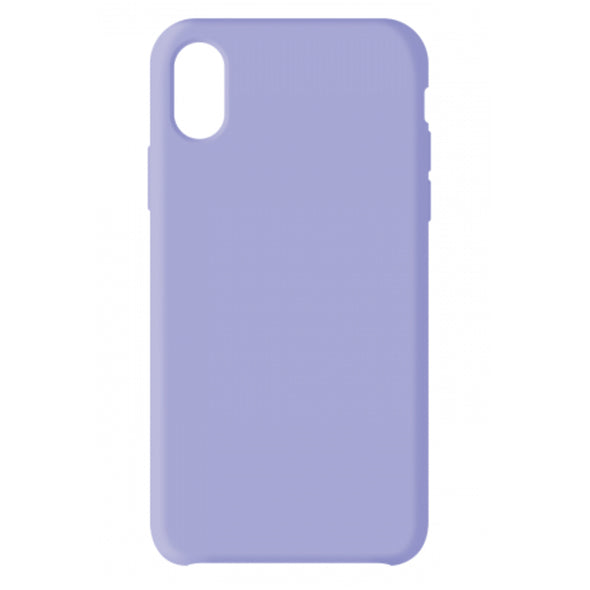 PREMIUM APPLE IPHONE X/XS LIQUID CASE PURPLE