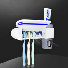 Load image into Gallery viewer, Antibacterial UV Toothbrush Holder and Sterilizer