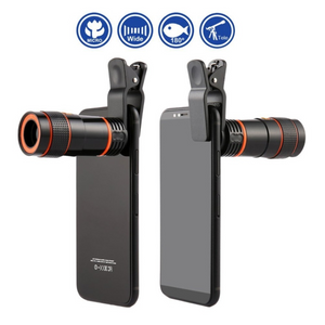 【50% OFF&FREE SHIPPING】Magic 8x/12x Zoom Telescopic Lens (Compatible With All Phones)