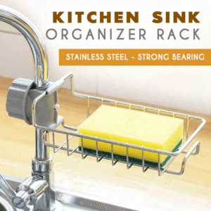 Kitchen Sink Organizer Rack