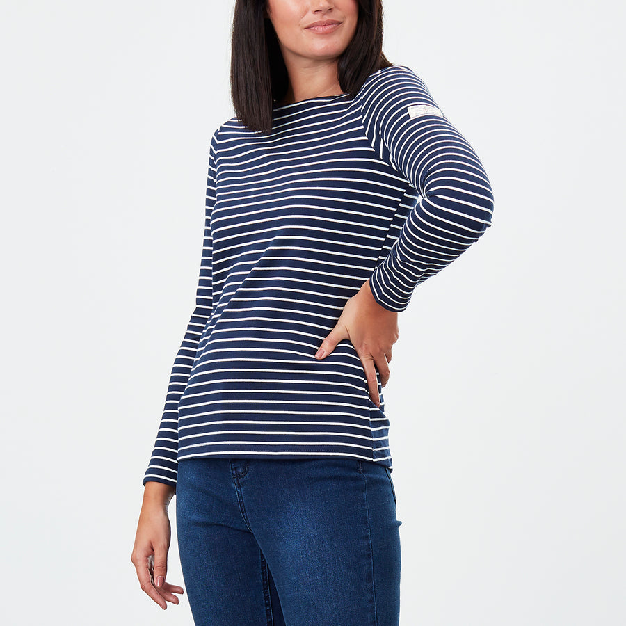 JOU261 Harbour Stripe Top