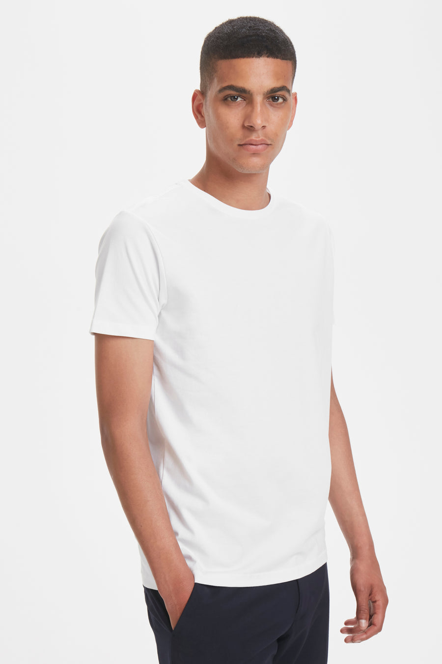MT30200604 Jermalink Stretch Basic Tee