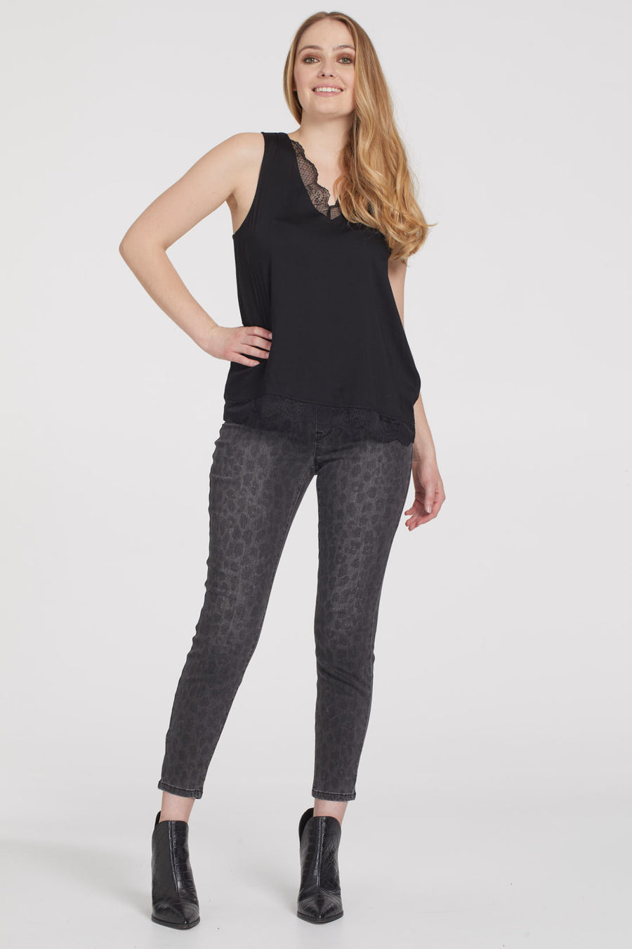 TR5056O Pull On Ankle Jegging