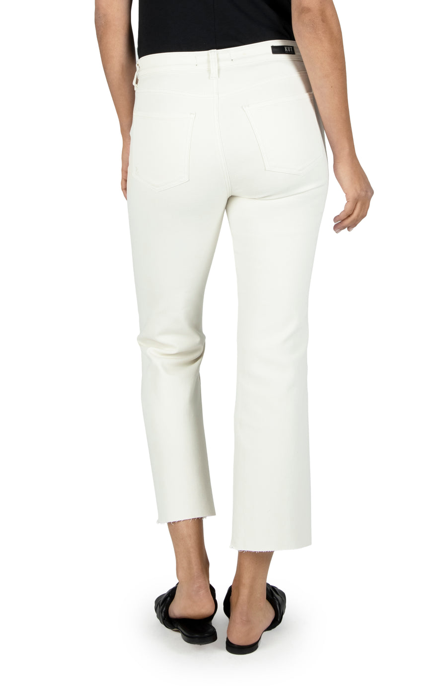 KUT1291MA2 Kelsey High Rise Crop Straight
