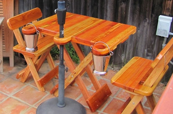 Folding Table with Benches (multiple options and sizes)