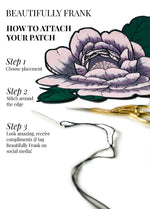 Load image into Gallery viewer, Falling Peony Patch (Large)