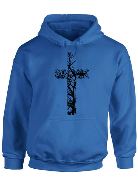 Awkward Styles Black Cross Unisex Hoodie Christian Hoodies for Him Jesus Collection Jesus Cross Hoodie for Women Jesus Sweater for Men Christian Cross Gifts Cross Unisex Outfit for Men and Women