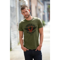 Forged in His Strength Christian T-Shirt