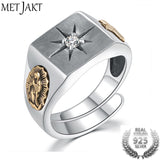 MetJakt Cross Ring