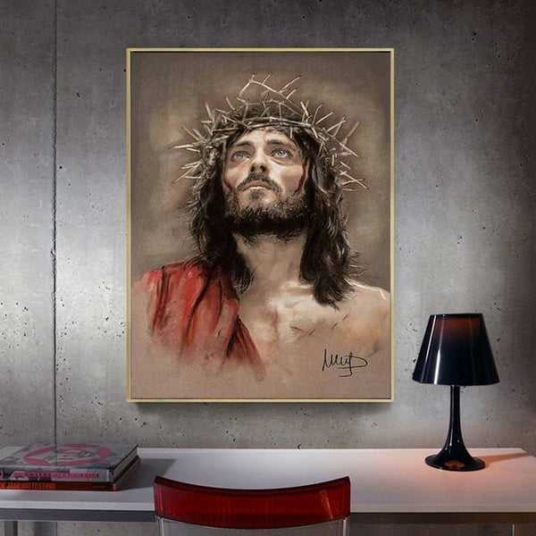 Diamond Needlework Painting Jesus